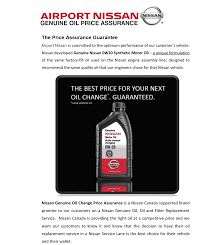 nissan canada parts and accessories airport nissan genuine oil price assurance airport nissan