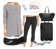 travel clothing images What to wear travelling on a plane how to travel in style jpg