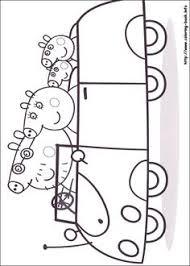 dibujo peppa pig colorear familia kid u0027s stuff
