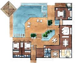design villa floor plans architectural designs house plansmodern