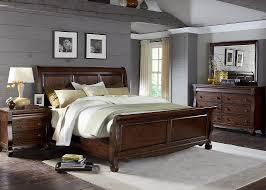 bedroom collections bedroom bed with solid poplar wood and rustic russet finish