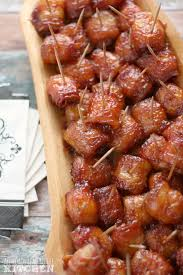 bacon wrapped water chestnuts all roads lead to the kitchen