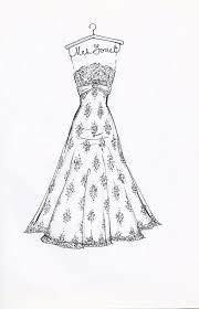 7 best wedding dress sketches images on pinterest custom wedding