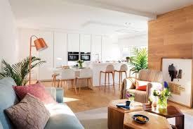 cuisine blanche parquet cuisine blanche et bois clair excellente cuisine blanche et bois
