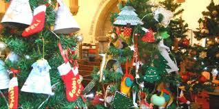 merry christmas tree festival draycott in the moors website
