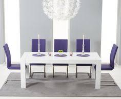 High Gloss Extending Dining Table Atlanta 120cm White High Gloss Dining Table With Cavello Ivory