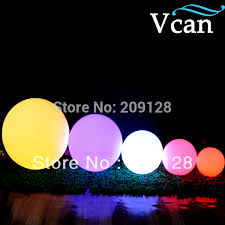 50cm big size large outdoor indoor colours change remote led