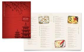 asian restaurant menu template word u0026 publisher