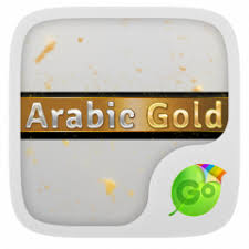 arabic keyboard for android arabic gold go keyboard theme 3 87 apk for android aptoide