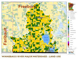 Chippewa National Forest Map Winnebago River Watershed Minnesota Nutrient Data Portal