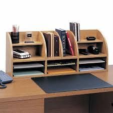 Desk Top Organizers Desk Organizer 12 Compartment Wood Desktop Organizer Siegel