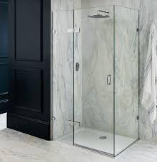 cool glass shower panel frameless door panel shower glass panel b u0026q