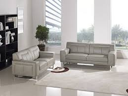Diamond Furniture Living Room Sets Leatherette Sofa Loveseat Chair 3pc Set With Metal Leg By Diamond