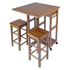 foldaway breakfast table folding dining table and chairs set