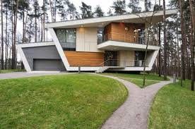 architectural designs the contemporary unique architecture design of gorki house in