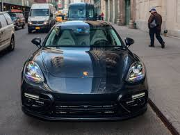 porsche panamera blue porsche panamera sedan review pictures details business insider