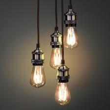 Vintage Lighting Fixture Vintage Lighting Brass Pendant