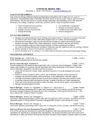 Qualifications In Resume Examples by Executive Summary Resume Example Resume Example Example Of A