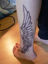 feather ankle tattoo hermes tattoo ankle tattoo and hermes tattoo