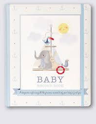 baby record book blue baby book m s