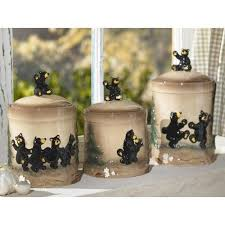 black kitchen canister sets 2 black kitchen canister set lodge decor decor