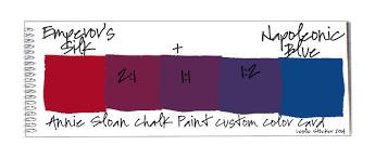 colorways annie sloan chalk paint custom color recipe mixing guide