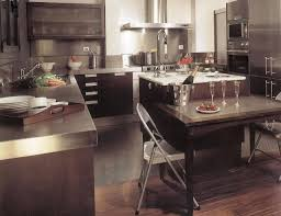 color stainless steel countertops amazing kitchens stainless