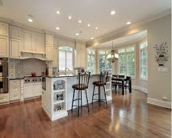 White Cabinets Kitchens Travertine Tile Top Hardwood Kitchen Cabinets Kitchen Backsplash