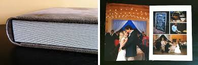 large wedding photo album snapshots wedding albums chanterelle photography montgomery