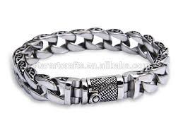 solid sterling silver mens bracelet images 925 solid sterling silver jewelry mens bracelet heavy chain china jpg