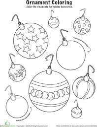 christmas worksheets for preschool free worksheets library