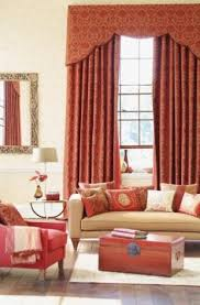 Rust Colored Curtains Heart Mag
