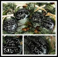 chalkboard paint ornament ornaments ideas for the and inspiration