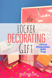 Ideas For Locker Decorations Gift Ideas For Teen Girls Archives The Gifty