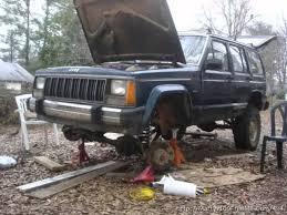 jeep comanche lifted rusty u0027s 4 5