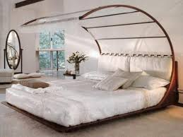 Bed Frame With Canopy Wood Canopy Bed Frame Us House And Home Real Estate Ideas