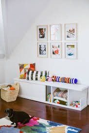make a bench with built in storage u2013 a beautiful mess