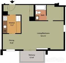 Rental House Plans Floor Plans Barton House Apartments Arlington Va