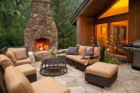 patio ideas stone patio fireplace designs stone patio fire pit