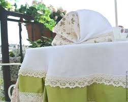 buy set table linen tablecloth and napkins provence on livemaster