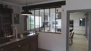 separation cuisine style atelier verriere de cuisine luxe separation cuisine style atelier maison