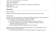 academic cv template word sample format of resume 18 jobsxs com
