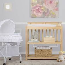 dream on me changing table white dream on me zoey 3 in 1 convertible changing table in natural 605 n