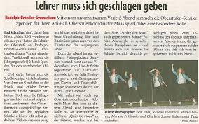 Lippische Landeszeitung Bad Salzuflen Varieté Abend Lehrer Muss Sich Geschlagen Geben U2013 Rudolph Brandes