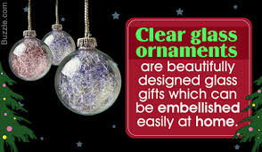 remarkably charming ways to decorate with clear glass ornaments