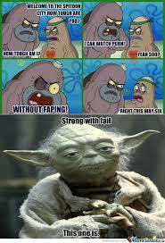 Tough Spongebob Meme - spongebob meme how tough am i 39767 applestory