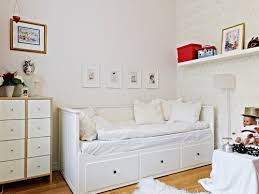 ikea spotted hemnes daybed frame with 3 drawers in white lack
