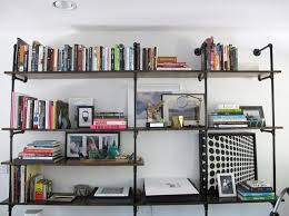 Diy Modern Bookcase 20 Drool Worthy Home Libraries Brit Co