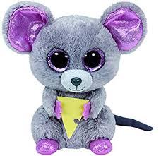 amazon ty beanie boo plush squeaker mouse 6 toys