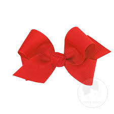 wee ones hair bows small classic grosgrain hair bow knot wrap